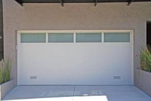 Flat Panel Garage Doors